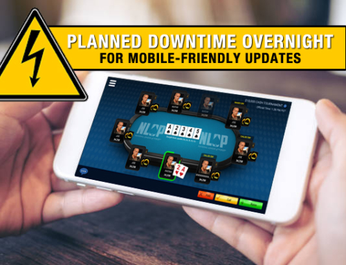 Mobile Poker Updates – NLOP Maintenance Planned