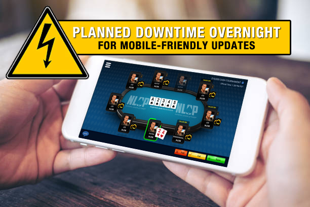 Mobile Poker - Planned Downtime Tonight